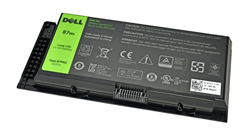 Brand New Dell Original 9 Cell 87Whr Battery For Precision M4700 M4600 M6700