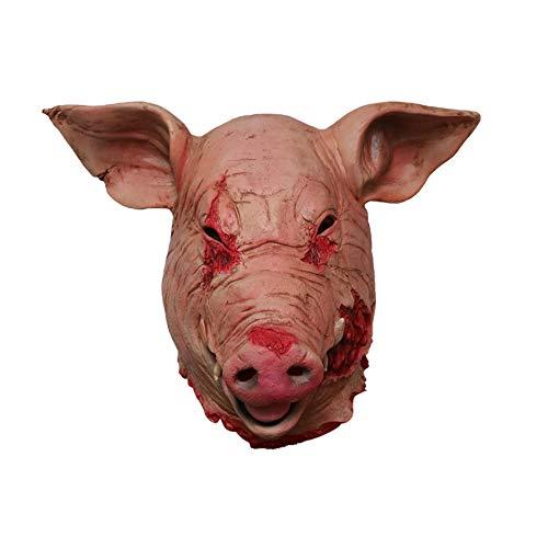 TianranRT Cosplay Maske Schmelzen Gesicht Latex Kostüm Sammlerstück -