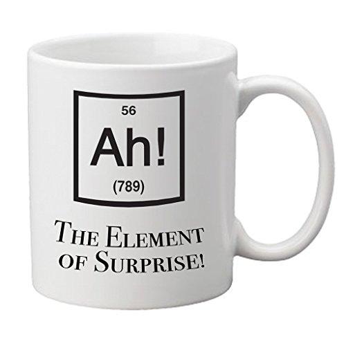 AtomInc 'Ah, el elemento de sorpresa.' taza