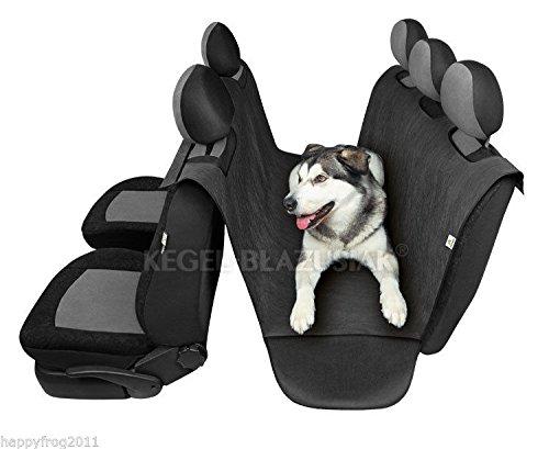 Car Rear Back Seat SAFETY Cover Pet Dog Cat Protector Hammock Mat Liner MAKS 2