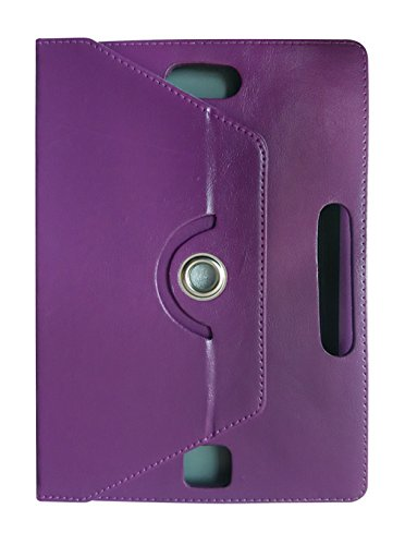 Fastway 360 Degree Rotating Tablet Book Cover For Milagrow PiPo TabTop M8 PRO (3G+16GB)-Purple  available at amazon for Rs.349