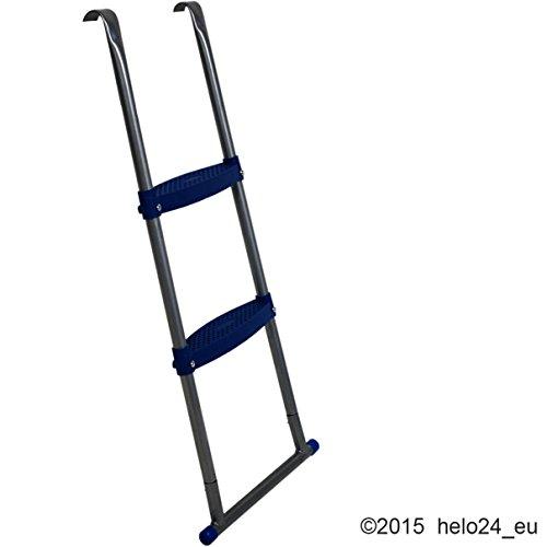 Einstiegsleiter für 430 cm Trampolin in blau