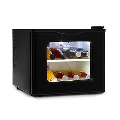 Klarstein Winehouse Mini Bar 17 Litres 60 W Class A ++ 38 dB Glass Door