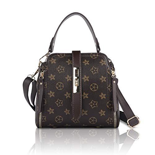 HOW.R.U - Ümhängetasche Damen Klein, Henkeltasche, Elegante Schultertasche, Handtasche, Damentaschen PU Leder, Crossbody Bag -