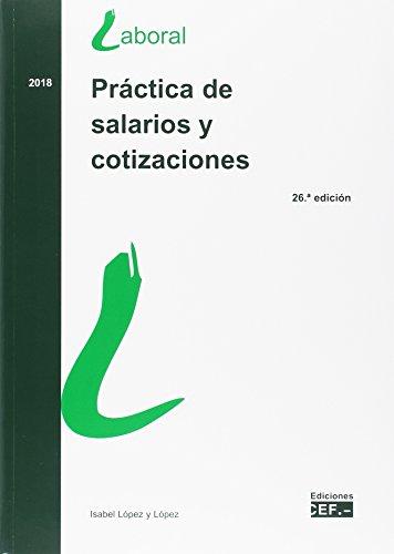 PRÁCTICA DE SALARIOS Y COTIZACIONES por ISABEL LÓPEZ Y LÓPEZ