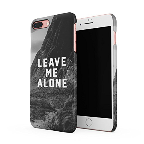 Sad Girls Smoke A Lot Dünne Rückschale aus Hartplastik für iPhone 7 Plus & iPhone 8 Plus Handy Hülle Schutzhülle Slim Fit Case cover Leave Me