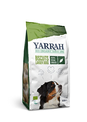 Yarrah Bio Hundesnack Vegetarische Kekse, 500 g, 2er Pack (2 x 500 g)