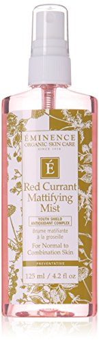 Eminence Red Currant Exfoliating Cleanser (Normal to Combination Skin) - 125ml/4.2oz/ Eminence Groseille matifiante Mist 4 fl oz / 125 ml Peaux normales à mixtes