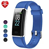 Willful Fitness Armband Herzfrequenz Smart Armband Uhr IP68 Wasserdicht Fitness...