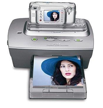 Kodak 6000 Printer-Station für CX- und DX-Digitalkamera-Serie