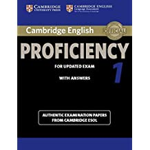 Cambridge English Proficiency 1 for Updated Exam Student's Book with Answers (CPE Practice Tests)
