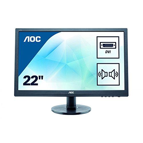 AOC E2260SDA 22 inch Widescreen LED Monitor (1000:1, 250cd/m2, 1680x 1050, 5ms)