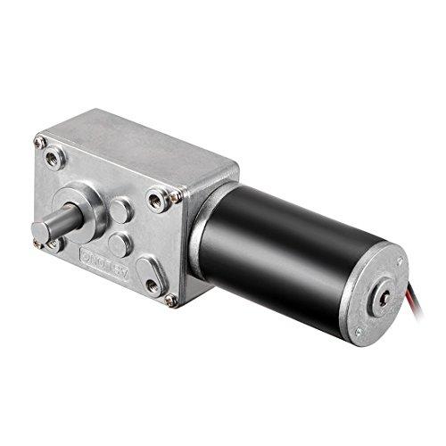sourcingmap 12 V DC 260 U/min Hohe Drehmoment elektrische Leistung Geschwindigkeit verringern Turbine Wurm Getriebe Motor -
