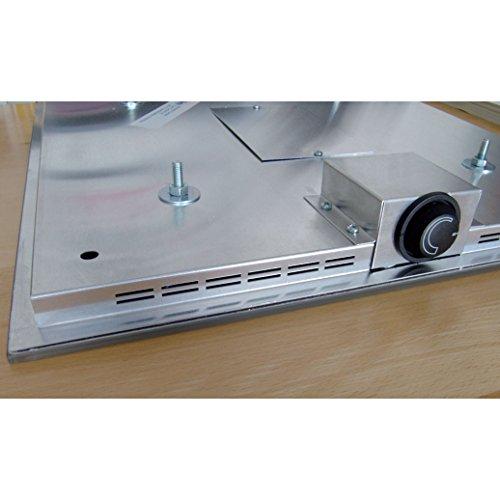 Infrarot Glasheizkörper 60x100cm 850 Watt Spiegel Bild 4*