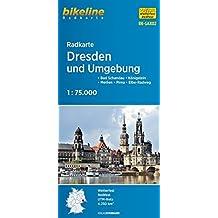 Radkarte Dresden und Umgebung (RK-SAX02): Bad Schandau - Königstein - Meißen - Pirna - Elbe-Radweg