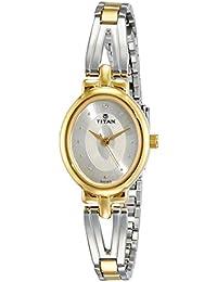 Titan Karishma Revive Analog Silver Dial Women's Watch-2594BM01