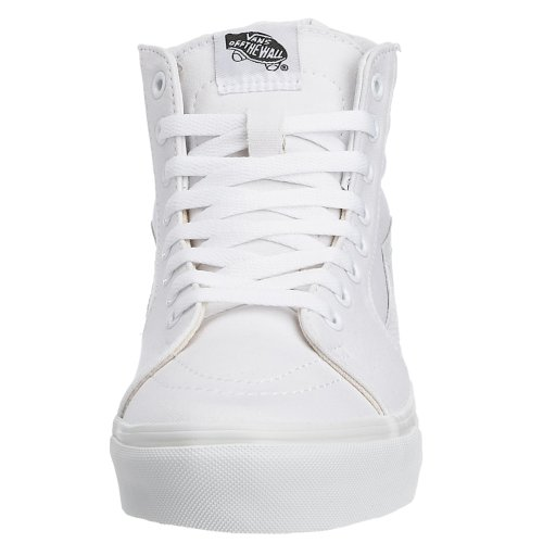 Vans Sk8-Hi, Sneakers Alti Unisex Adulto Bianco (True White W00)