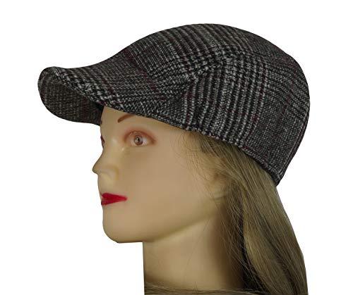 takestop Cappello Coppola Berretto Uomo Modello Liverpool Tessuto Shetland  100% Poliestere Accessorio Maschile Cappelli Caldo c6bb56d8db31