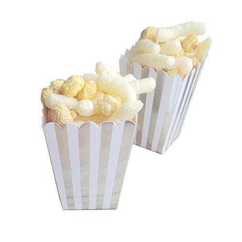 Black Temptation Popcorn Boxes Fries Cups Partyartikel - A5-12PCS