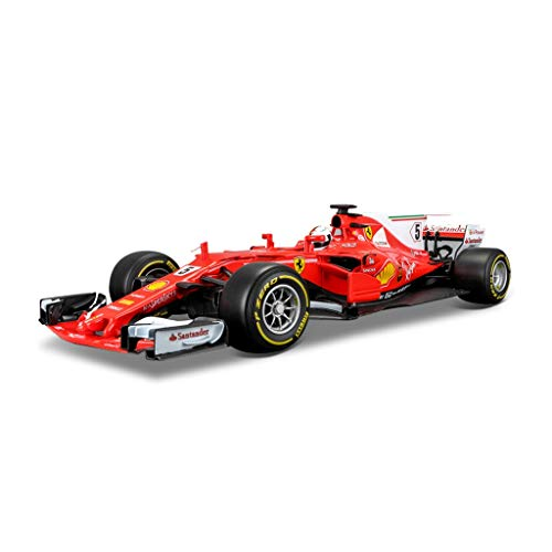 SHLIN-Auto Model Legierung Rennen Modell Jubiläum Formel Serie Adlut Kids Collection Geschenk Dekoration Ferrari SF-7 F1 1:18 (Farbe : 5# Sebastian Vettel (2018)) - Formel-serie