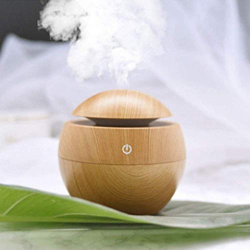 shopping Portable Mini Wood Finish Aroma Atomization Humidifier For Home Office,car and bedroom (SHP009HDF)