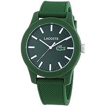 Lacoste 2010763 - Reloj analógico de pulsera para hombre, correa de silicona