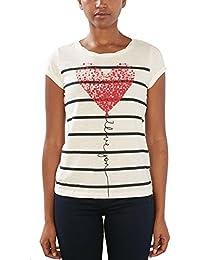 edc by Esprit 017cc1k016, T-Shirt Femme