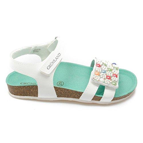Grunland Deha bambina, pelle liscia, sandali, 30 EU