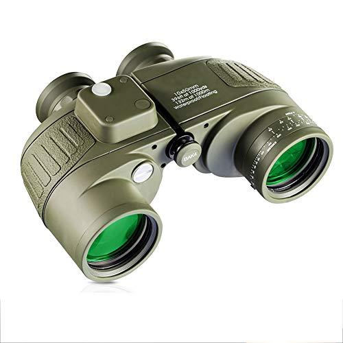 FGJFA Binokulare 10x42 Hochleistungs-Beinfällchen für Erwachsene mit BAK4 Prism FMC Lens...