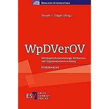 WpDVerOV: Wertpapierdienstleistungs-Verhaltens- und Organisationsverordnung Kommentar (Berliner Kommentare)