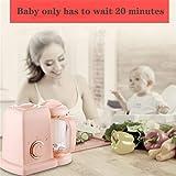 Dkings Multifuncional Chopper y vaporizador de Alimentos para bebés, Complemento alimenticio Cocinar Mezclar Baby Mini Food Grinder, Licuadora