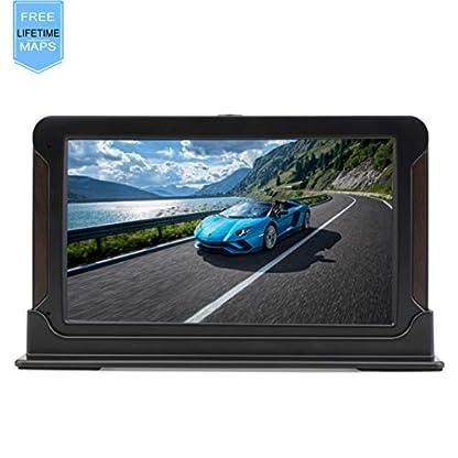 Navigationsgert-7-Zoll-Touchscreen-GPS-Navi-Auto-Navigation-fr-Taxi-LKW-PKW-KFZ-Navigationsystem-mit-Lebenslang-Kostenloses-Kartenupdate-Blitzerwarnung-Sprachfhrung-8GB256MB-52-Karten-fr-Europa