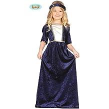 Disfraz de Dama Medieval azul en varias tallas