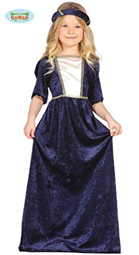 lila Burgfräulein - Kostüm für Mädchen Gr. 98 - 134, (Für Kleid Lustiges Kinder)