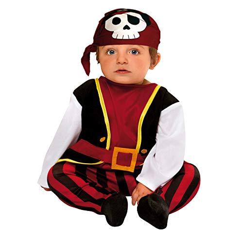 My Other Me Me-200567 Disfraz de bebé pirata para niño, 7-12 meses (Viving Costumes 200567