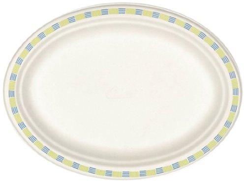 papstar-12120-lot-50-assiettes-ovales-en-pate-de-bois-motif-bords-bicolores-blanc-26-x-19-x-2-cm