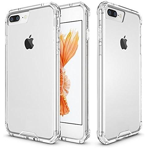 Iphone 7 Plus Custodia, Expower Case Cover Protettiva Posteriore Copertura Bumper Antiurto Antigraffio in Acrilico (0.25 Bumper)