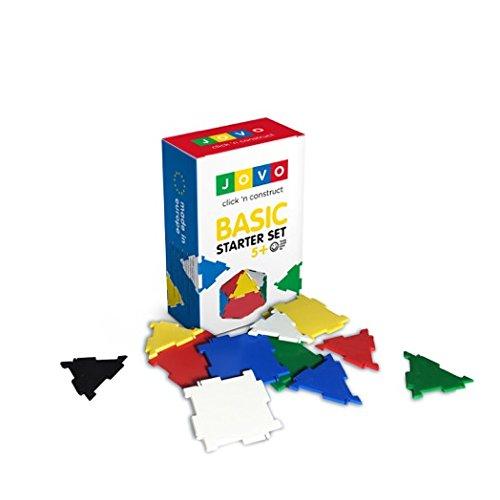Konstruktionsspielzeug JOVO® - Basic Starter Set Lernspielzeug Steckbaukasten