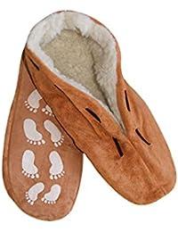 Hausschuhe Slippers House Shoes Pantoffeln Damen und Herren Neu Antirutsch Leder verschiedenen Farben Gr. 35 - 52 (45, Schwarz)