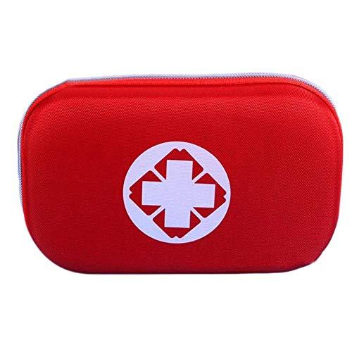 Erste Hilfe Tasche, Leer Außen Erste-Hilfe-Kit leeres Paket erste hilfe Koffer (rot)