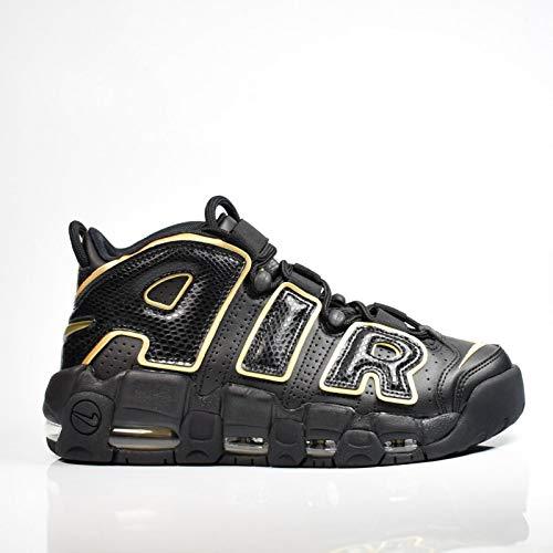 online retailer ff165 f3c8b Nike Air More Uptempo  96 France QS, Chaussures de Fitness Homme, Noir (