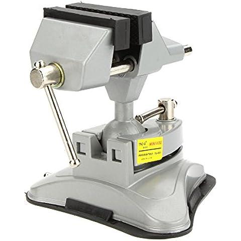 syalex (TM) tu-003Mini morsa morsa in lega di alluminio Jewelry Crafts Mold Hobby Laboratorio Vice Multiusos fisso riparazione strumenti pinze