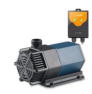 Réservoir d'eau fréquence pompe à eau muet eau douce eau de mer pompe aquarium intelligent eau circulation filtre pompe submersible puissance réglable 8W-48W