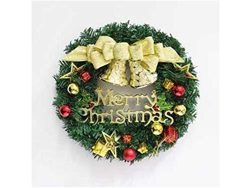 Heelinna natale campana di natale ghirlanda porta appeso ornamenti in camera albero di natale pendenti per la decorazione