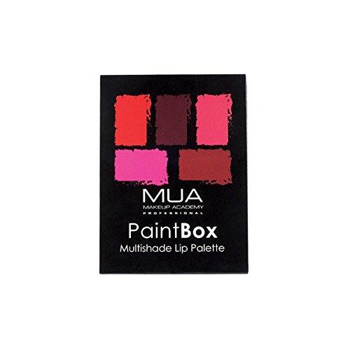 Paint Box Lip Palette Rose Rouge - MUA - Lip Rouge Palette
