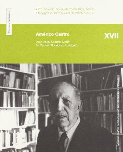 Portada del libro Américo Castro: Antología Del Pensamiento Político, Social Y Económico