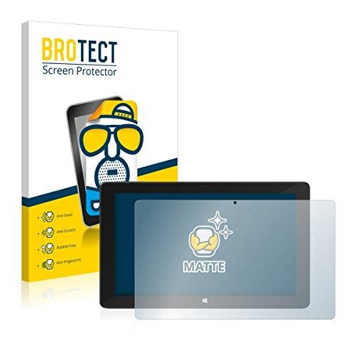 BROTECT Matt Bildschirmschutz Schutzfolie für TrekStor SurfTab Twin 11.6 (Volks-Tablet 2016) (matt - entspiegelt, Kratzfest, schmutzabweisend)