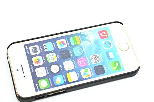 RoseFlower® Coque iPhone SE / iPhone 5S / iPhone 5 en Bois Véritable - Bambou Seawave - Fabriqué à la main en Bois / Bambou Naturel Housse / Étui avec Gratuits Film de Protecteur Écran pour votre Smar Bois deroseetdePC