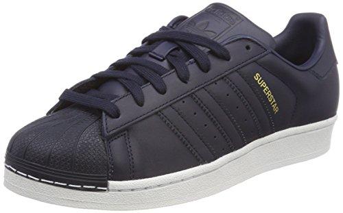 adidas Herren Superstar Fitnessschuhe, Blau (Tinley/Gritre/Cartra 000), 41 1/3 - Adidas Amazon
