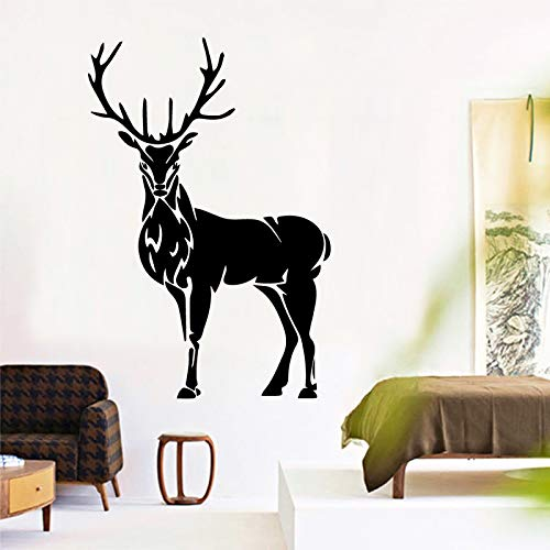 Hirsch Wandaufkleber Für Wohnzimmer Schlafzimmer Decoraccessories Vinyl Kunst Wandaufkleber Wasserdicht Adesivo Dekoration 86 cm X 108 cm
